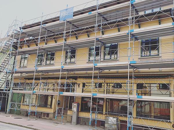 Byggnadsställningar Uddevalla